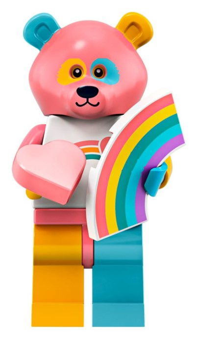 LEGO Series 19 Care Bear Minifigure