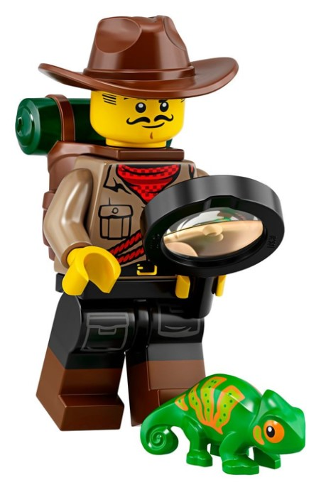LEGO Series 19 Explorer Minifigure