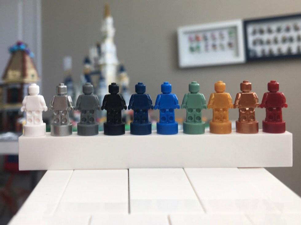 All the LEGO Monochrome Nanofigs