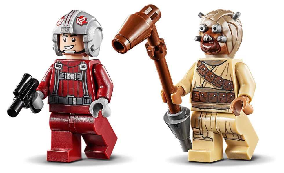 LEGO 75265 Star Wars T-16 Skyhopper Vs. Bantha Microfighter Minifigures