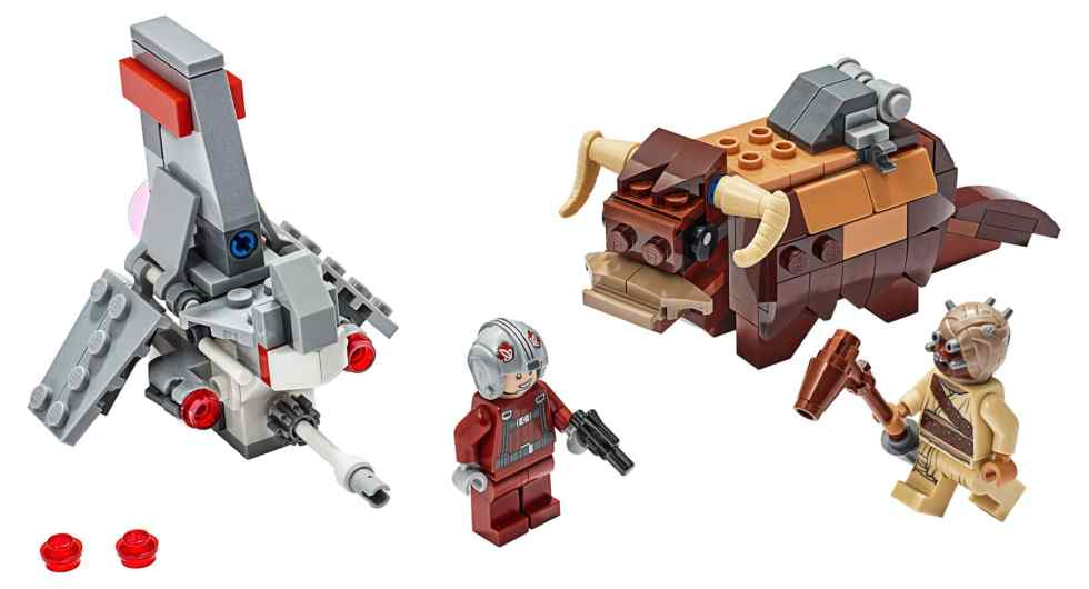 LEGO 75265 Star Wars T-16 Skyhopper Vs. Bantha Microfighter Review