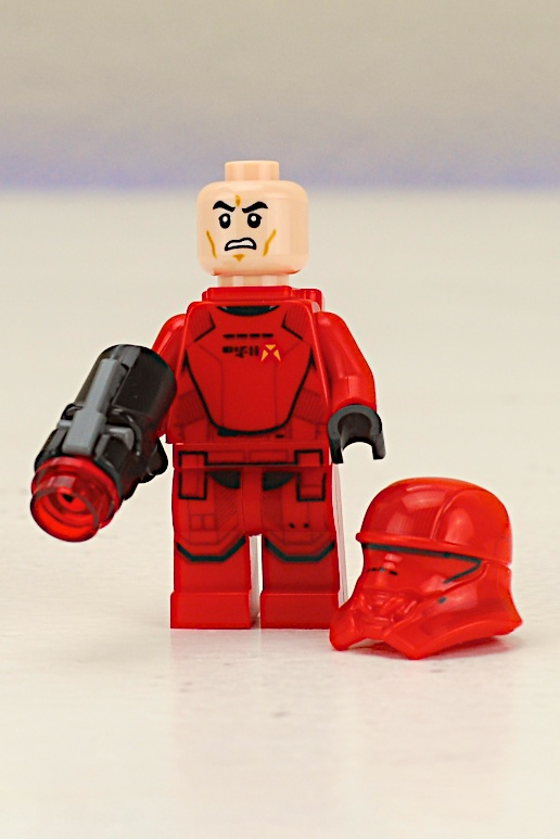 LEGO 75266 Sith Troopers Battle Pack Sith Trooper Minifigure with Backpack and Stud Shooter Face