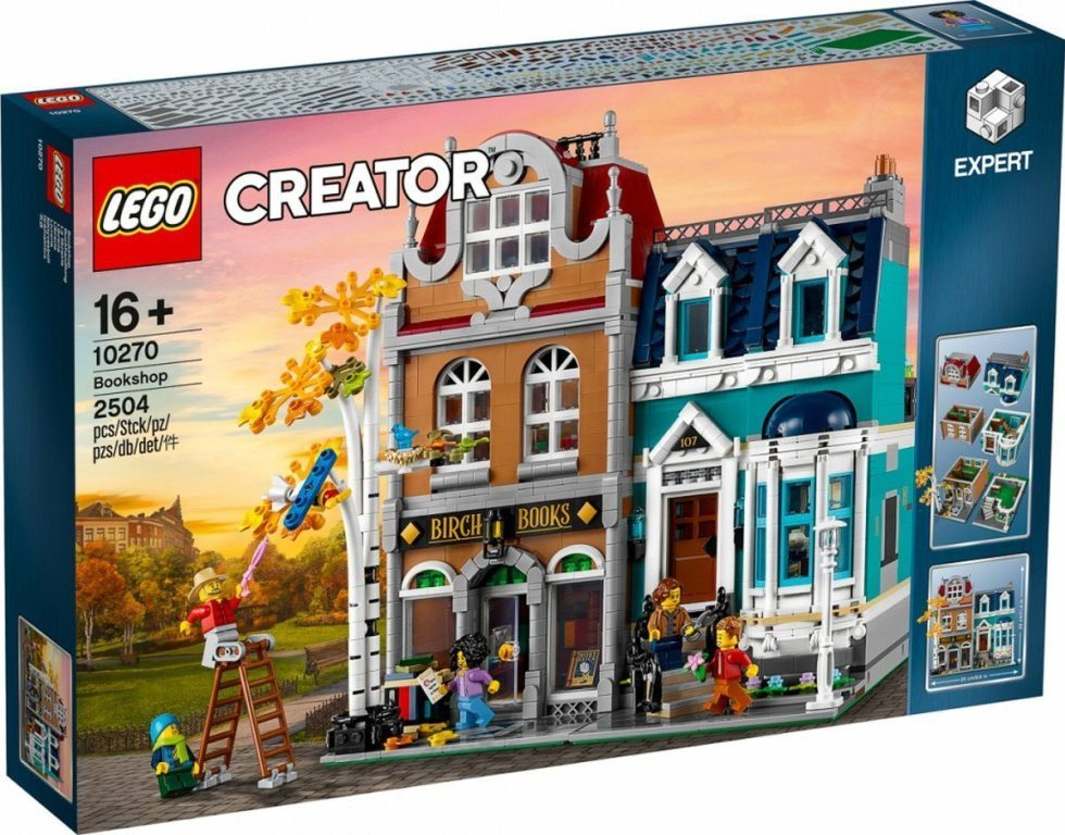LEGO 10270 Creator Expert Modular Bookshop box front