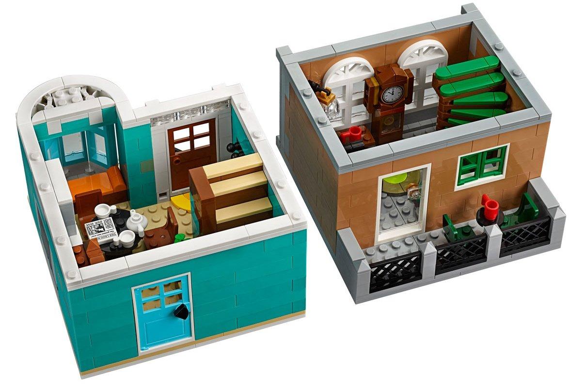 LEGO 10270 Creator Expert Modular Bookshop floors 5