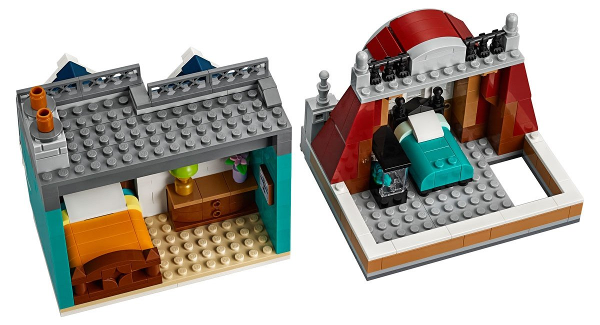 LEGO 10270 Creator Expert Modular Bookshop floors 6
