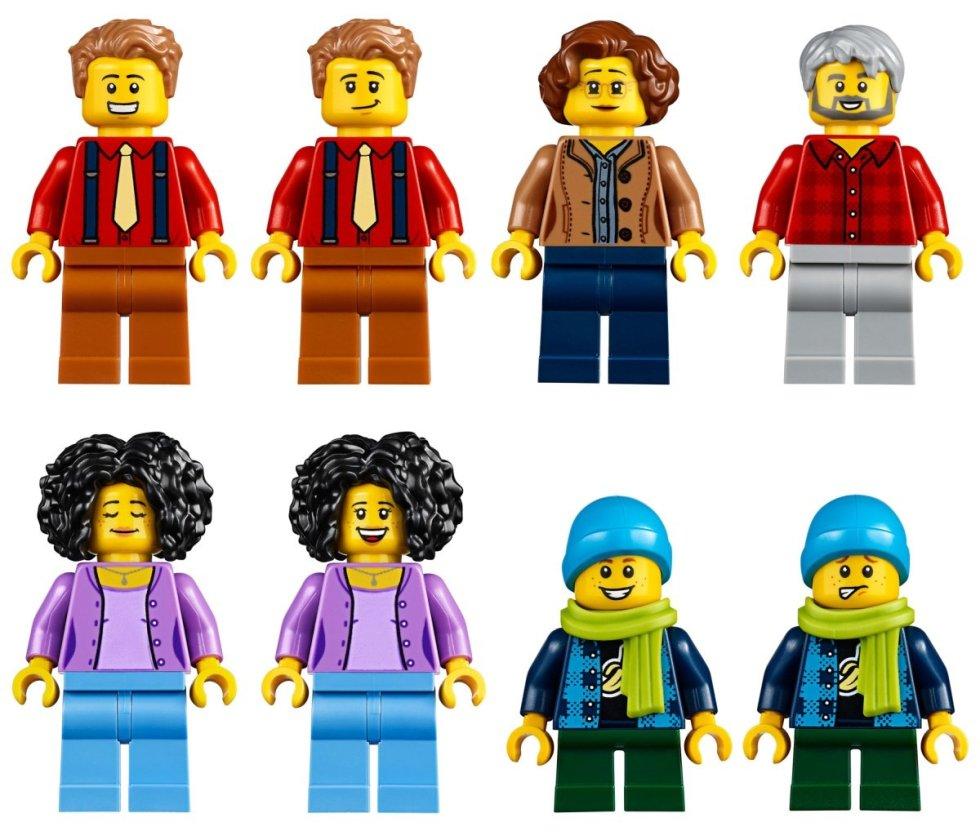 LEGO 10270 Creator Expert Modular Bookshop minifigures