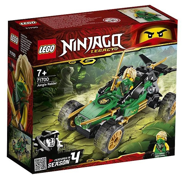 LEGO 71700 Ninjago Lloyd's Jungle Robber box front