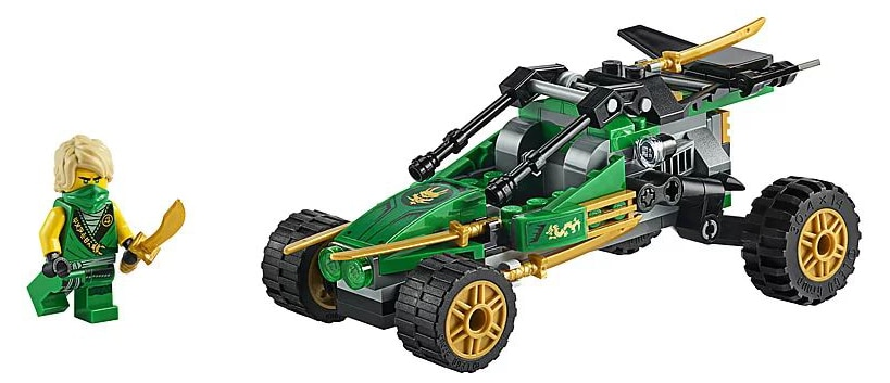 LEGO 71700 Ninjago Lloyd's Jungle Raider