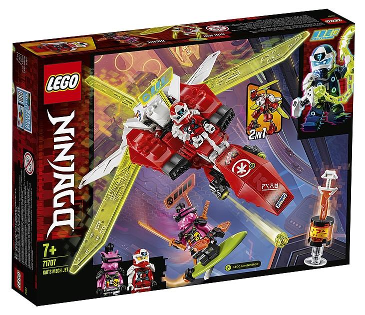LEGO 71707 Ninjago Kais Mech Jet Box Front