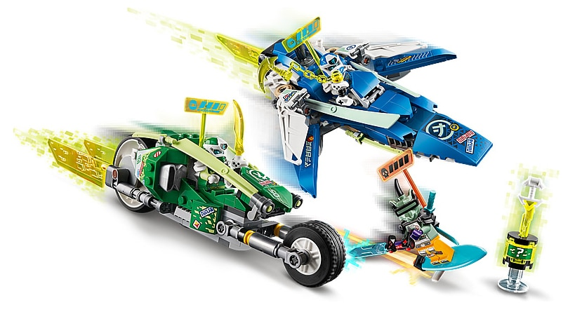 LEGO 71709 Ninjago Jay and Lloyd's Power Car Review