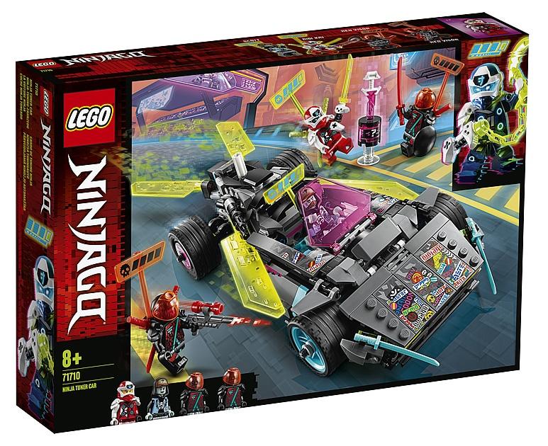 LEGO 71710 Ninjago Ninja Tuning Car Box Front