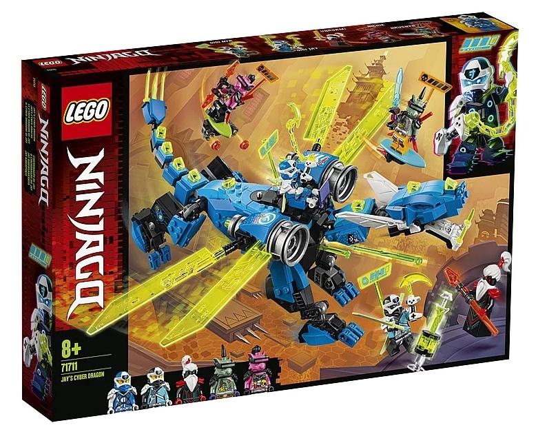 LEGO 71711 Ninjago Jay's Cyber Dragon Box Front