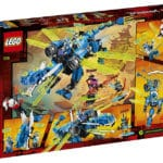LEGO 71711 Ninjago Jay's Cyber ​​Dragon Box back