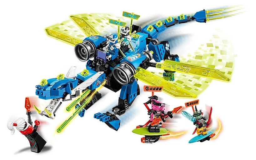 LEGO 71711 Ninjago Jay's Cyber ​​Dragon review