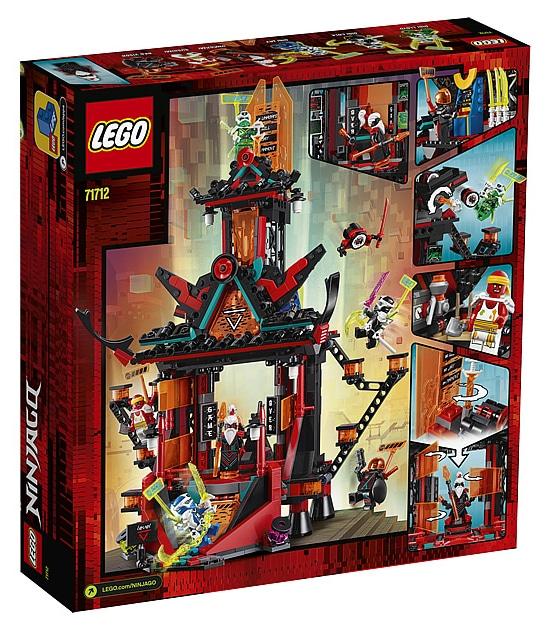 LEGO 71712 Ninjago Temple of Madness Box back