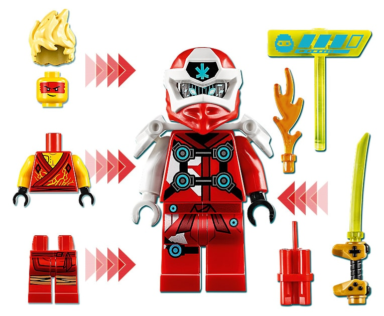 LEGO 71714 Ninjago Avatar Kai Arcade capsule minifigure