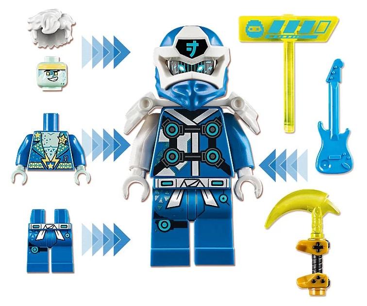 LEGO 71715 Ninjago Avatar Jay - Arcade capsule minifigure