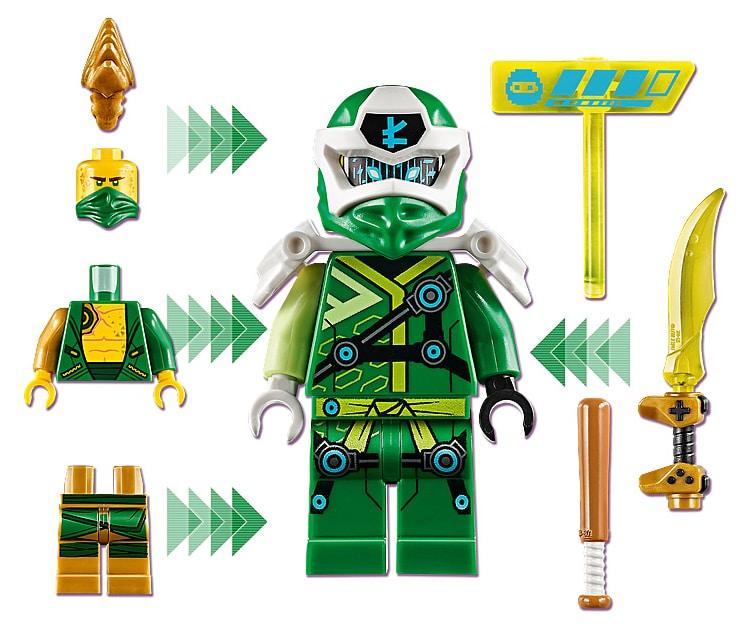LEGO 71716 Ninjago Avatar Lloyd - Arcade capsule minifigure