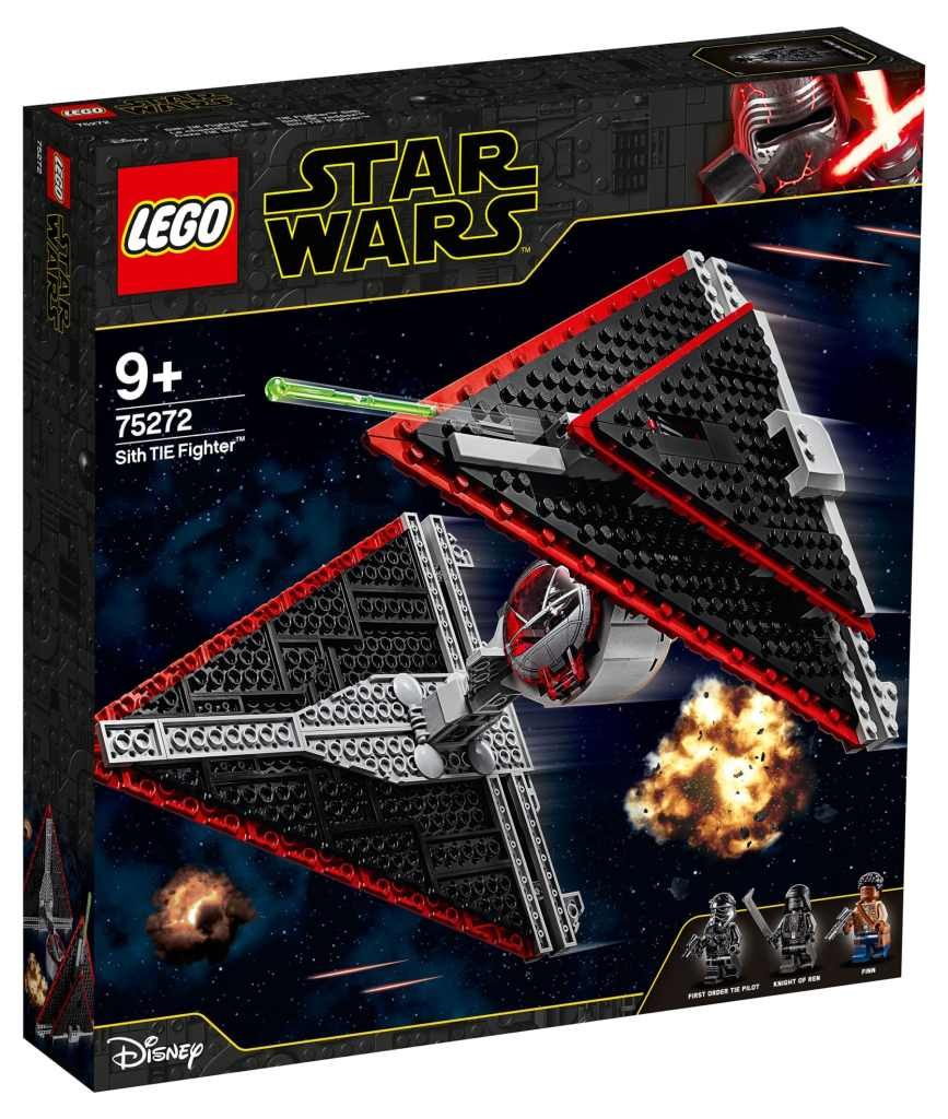 LEGO 75272 Star Wars Sith TIE Fighter Box Front
