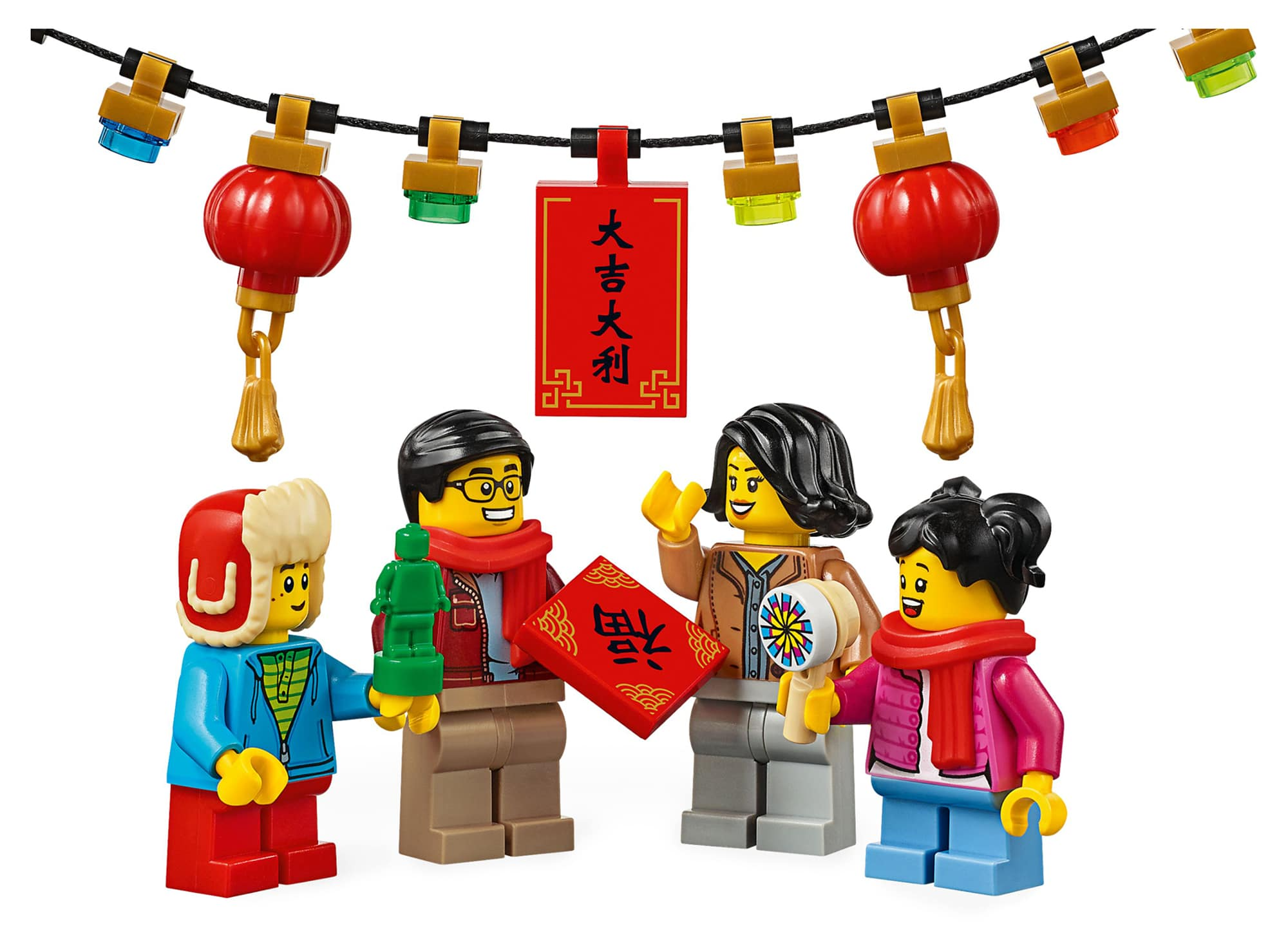 LEGO 80105 Temple Fair images