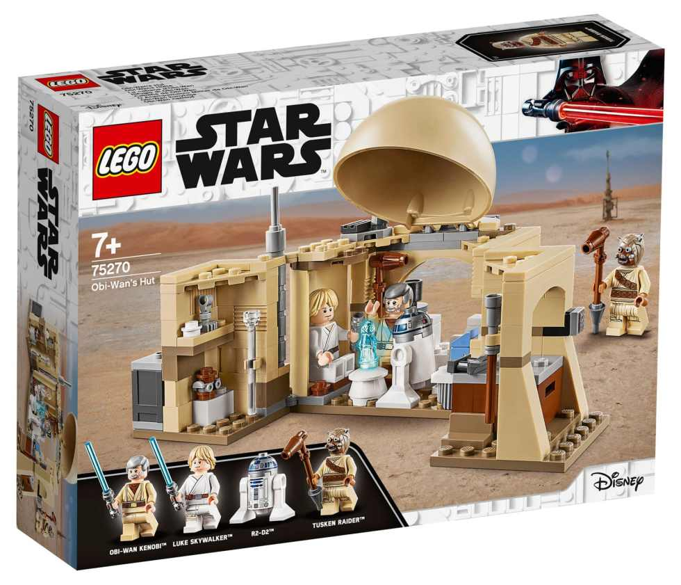 LEGO Star Wars 75270 Obi Wans Hut Box Front
