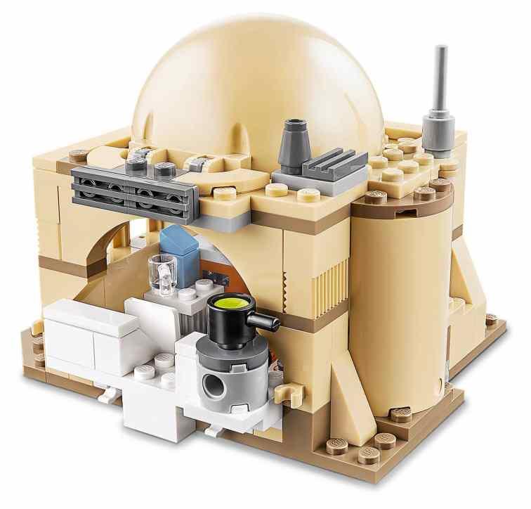 LEGO Star Wars 75270 Obi Wans Hut Details