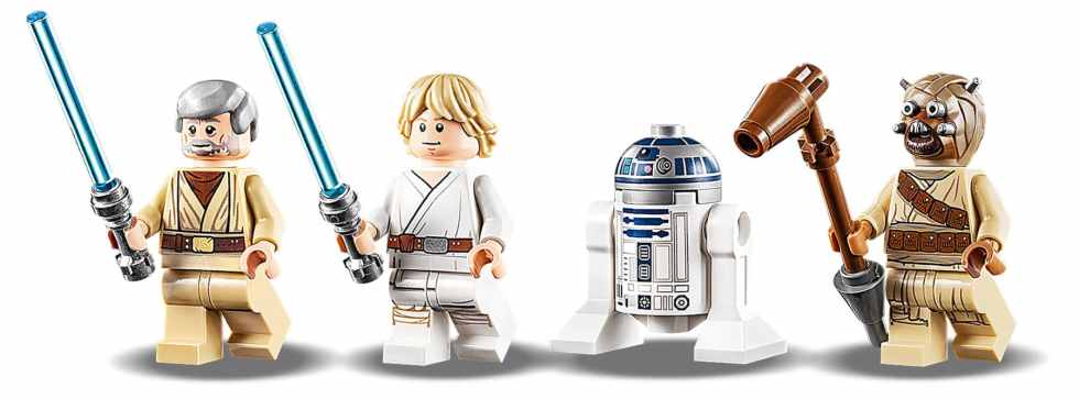 LEGO Star Wars 75270 Obi Wans Hut Minifigures