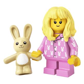 LEGO 71027 Girl in Pajamas Minifigure Series 20