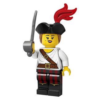 Lego 71027 Femaile Pirate Series 20 Minifigure