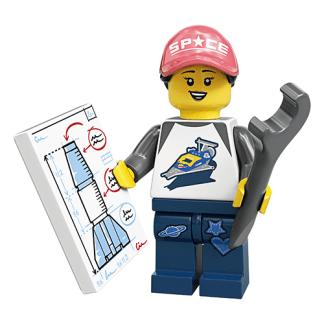 Lego 71027 Rocket Fan Girl Series 20 Minifigure