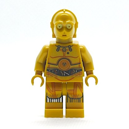 LEGO C-3P0 Colorful Wires, Printed Legs Minifigure