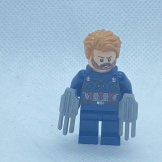 Lego Captain America, Beard Minifigure