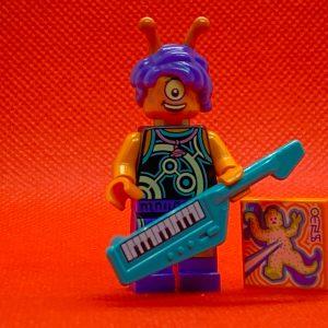 LEGO Vidiyo Minifigure - Alien Keytarist Bandmates