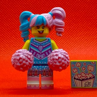LEGO Vidiyo Minifigure - Cotton Candy Cheerleader Bandmates