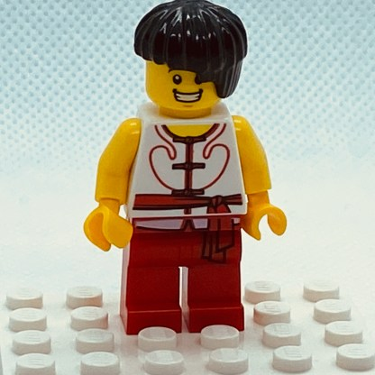 LEGO Minifigure Dragon Boat Race Team Red/White Member 3