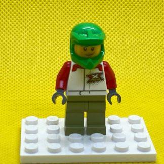LEGO Minifigure Wheelchair Athlete - Male