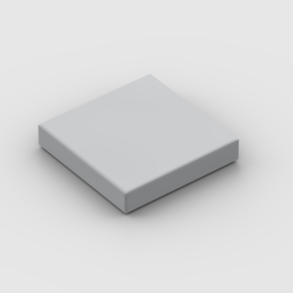 LEGO Part Light Bluish Grey Tile 2 x 2 with Groove