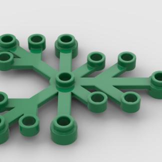 LEGO green leaf