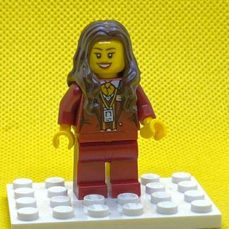 Lego Ms Santos Minifigure