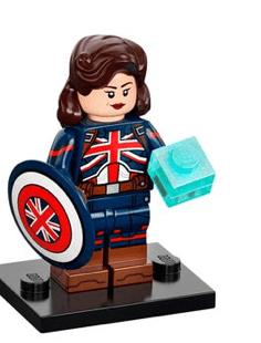 LEGO 71031 Marvel Minifigure - Captain Carter