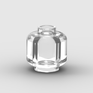 LEGO Part Minifigure, Head (Plain) - Solid Stud