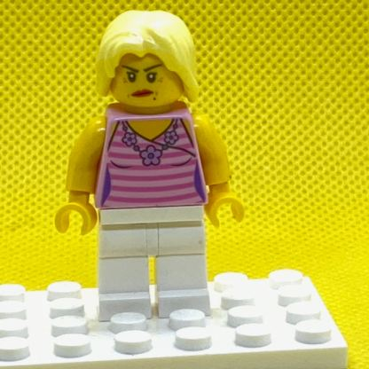 LEGO Mom Minifigure In a Pink Top
