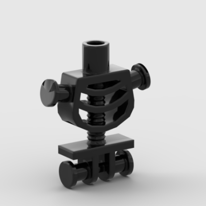 LEGO Minifigure Part Torso Skeleton, Thick Shoulder Pins