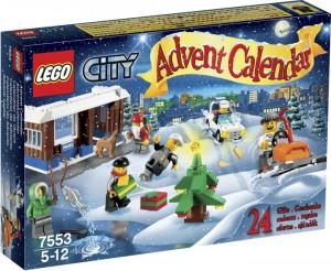 Lego City Advent Calendar 2011
