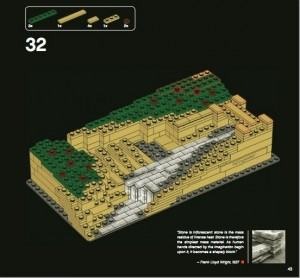 Lego Architecture Fallingwater Instructions P32