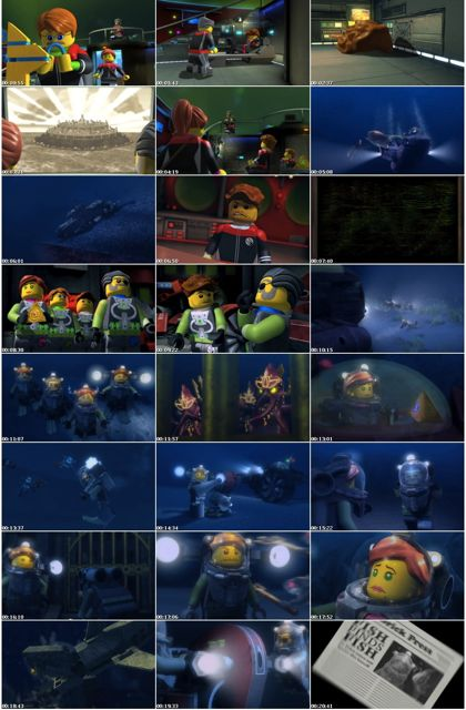 Lego Atlantis Movie Screenshots