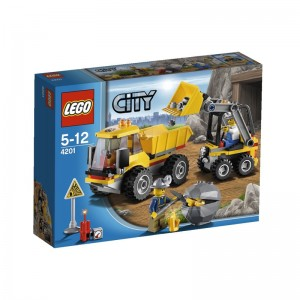 Lego City Loader And Tipper Box 4201