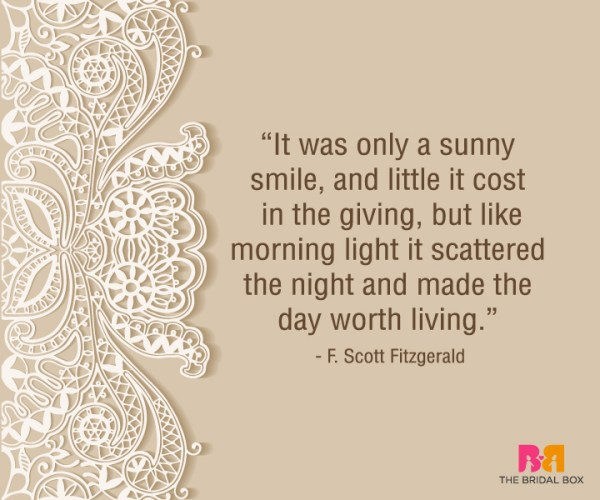Heart Touching Love Quotes For Him - F. Scott Fitzgerald
