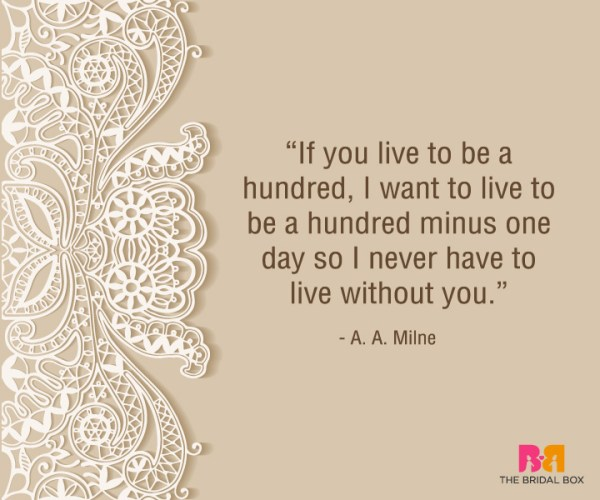 Heart Touching Love Quotes For Him - A. A. Milne