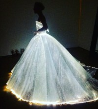 Bridal Guide - The Glow-in-the-Dark Gown at the 2016 Met Gala